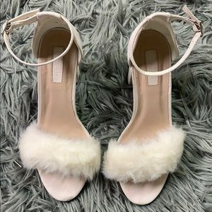 Fuzzy forever 21 heels🔥🔥